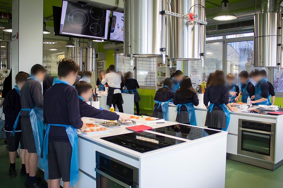 Transformación espacio Cocinando las ciencias